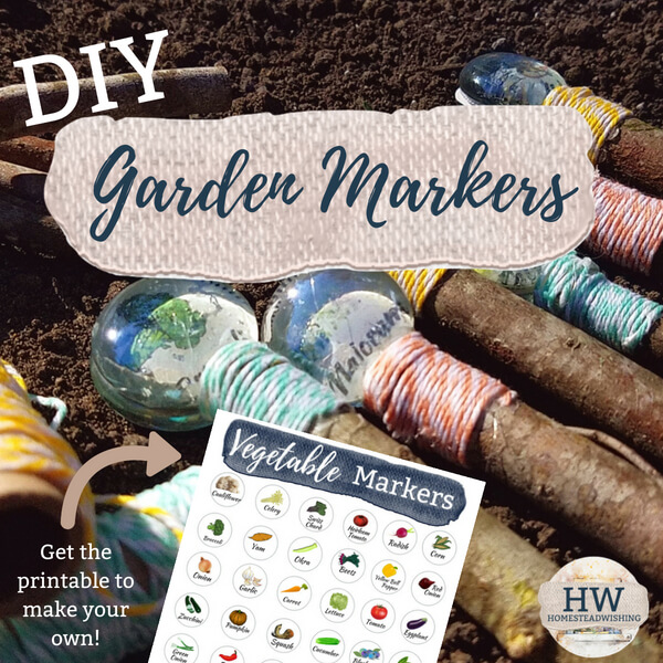 DIY Garden Markers Kit
