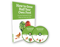 How To Grow Half Of Your Own Food In Your Backyard In Less Than One Hour Per Day